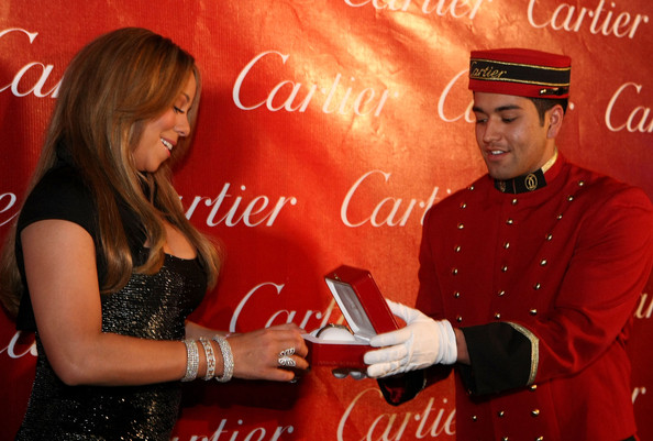 Mariah Carey Diamond Bracelet
