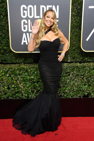Mariah Carey Mermaid Gown