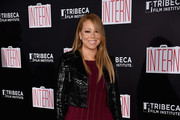 Mariah Carey Leather Jacket