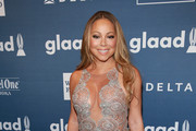 Mariah Carey Sheer Dress