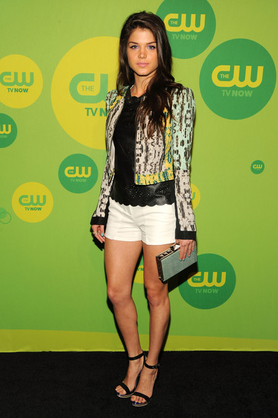 Marie Avgeropoulos Zip-up Jacket