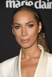 Leona Lewis wore her hair in a curly ponytail at the Marie Claire Change Makers celebration.