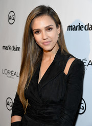Jessica Alba gave us hair envy when she wore this perfectly straight style during Marie Claire's Image Maker Awards.