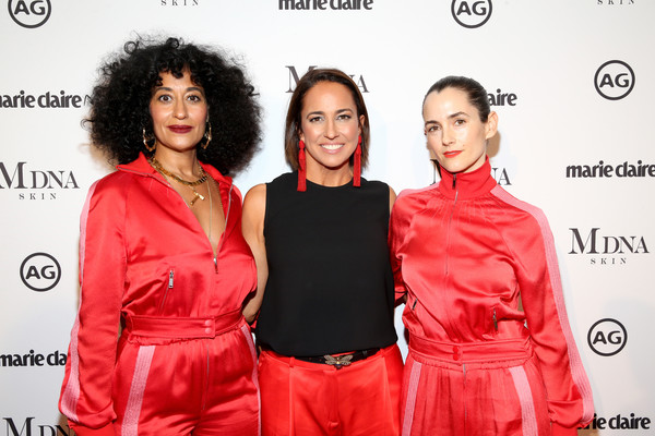 More Pics of Tracee Ellis Ross Box Clutch (5 of 19) - Clutches Lookbook - StyleBistro [red carpet,red,fashion,event,fashion design,photography,style,anne fulenwider,karla welch,tracee ellis ross,marie claires image makers awards,l-r,west hollywood,california]