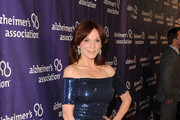 Marilu Henner Off-the-Shoulder Dress
