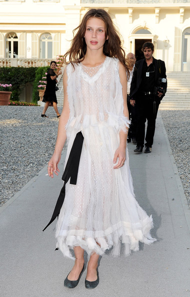Marine Vacth Evening Dress