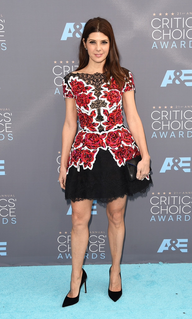 Marisa Tomei Mini Dress Marisa Tomei Looks Stylebistro
