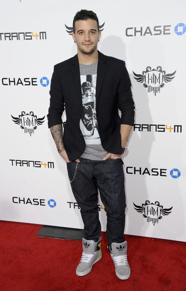 Mark Ballas Basketball Sneakers