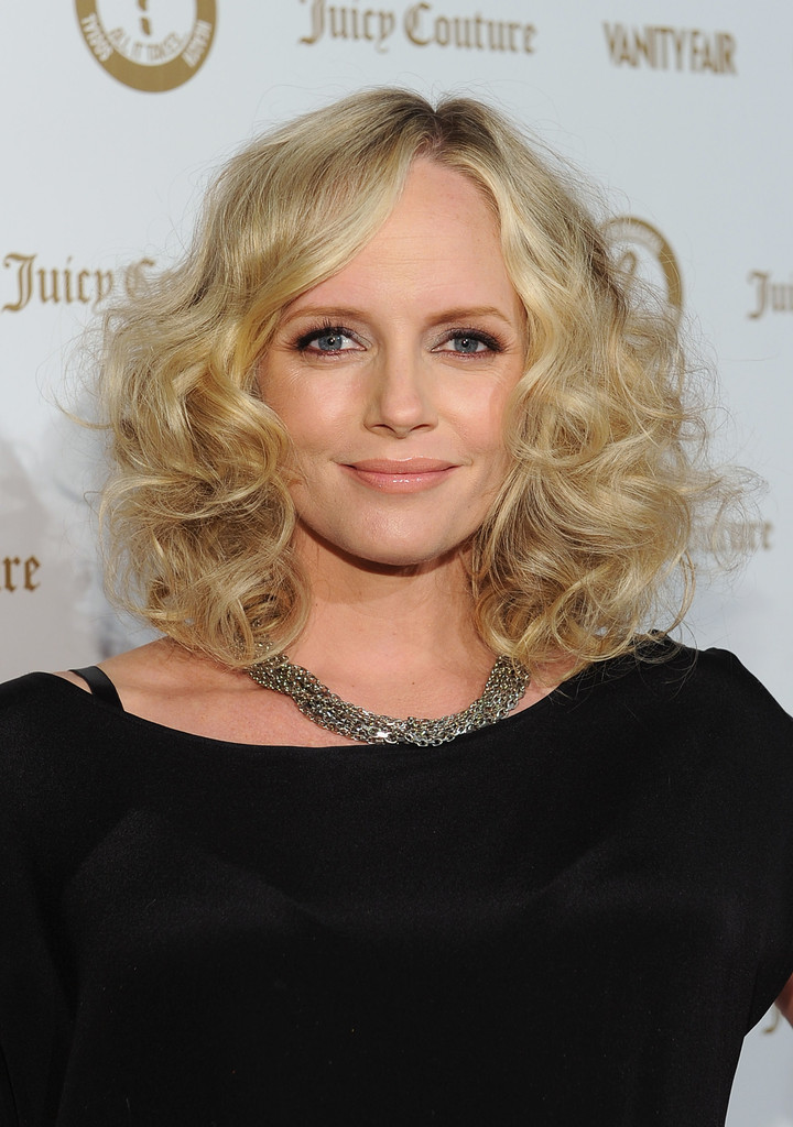 Marley Shelton Medium Curls Marley Shelton Looks