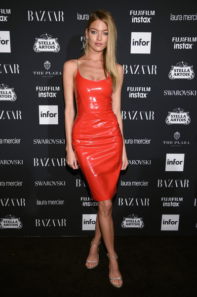 Martha Hunt Form-Fitting Dress