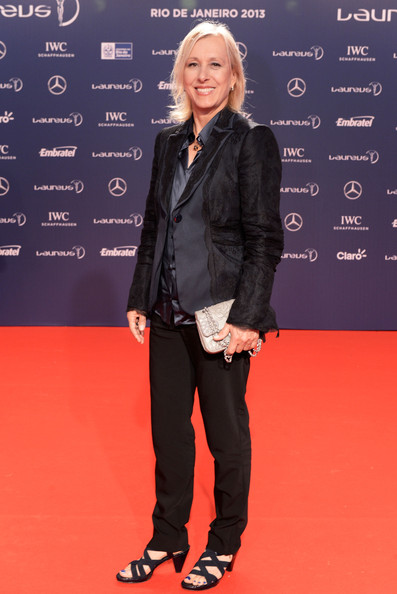 Martina Navratilova Clothes