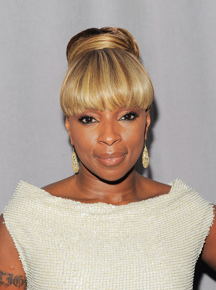 Mary J Blige Hair
