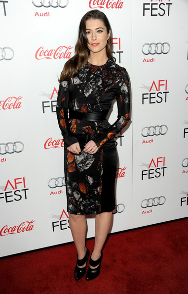 Mary Elizabeth Winstead Print Dress