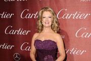 Mary Hart Strapless Dress