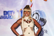 Mary J. Blige Gets Youthful in Herve Leger Cutout Dress at the BET Awards
