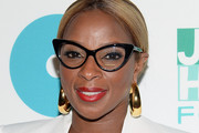 Mary J. Blige Gold Hoops