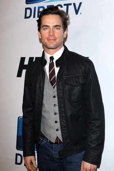 Matthew Bomer Leather Jacket