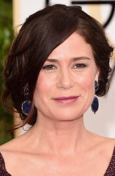 Maura Tierney Messy Updo