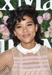Alexandra Shipp looked adorable with her short curls at the 2017 Face of the Future event.