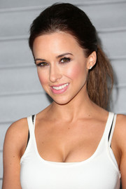 Lacey Chabert opted for an edgy ponytail when she attended the Maxim Hot 100 event.