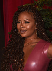 Eva Marcille rocked a head full of locs at the Maxim Hot 100 Party.