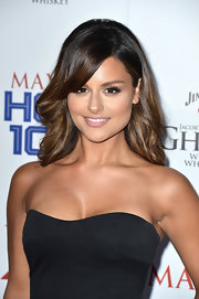 Pia Toscano rocked a soft teased 'do at the Maxim Hot 100 Party in Hollywood.