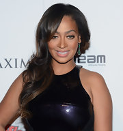 La La Anthony looked oh-so-pretty with her side sweep at the Maxim Hot 100 party.