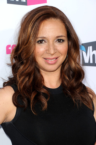 Maya Rudolph Long Curls