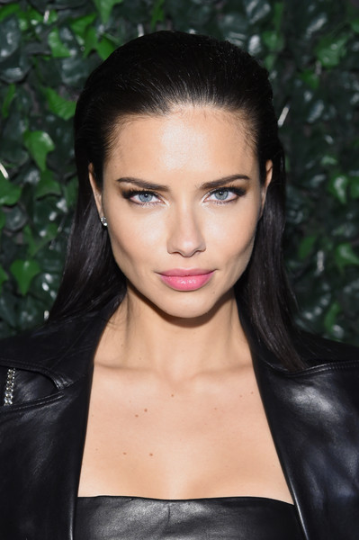 Adriana Lima's Punk-Chic Look