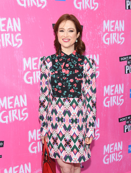 More Pics of Ellie Kemper  Print Dress (1 of 5) - Ellie Kemper  Lookbook - StyleBistro