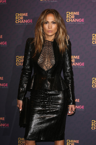 More Pics of Jennifer Lopez Skirt Suit (4 of 10) - Jennifer Lopez Lookbook - StyleBistro
