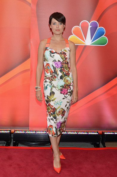 Megan Boone Print Dress