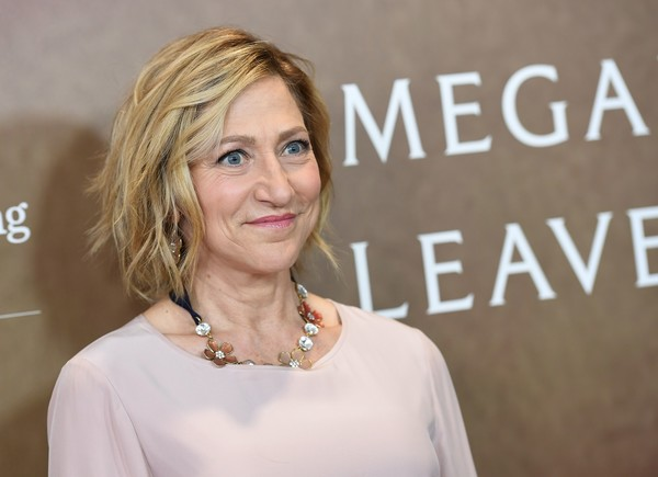 Edie Falco showed off a stylish textured bob at the world premiere of 'Megan Leavey.'