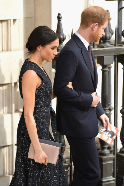 Meghan Markle Satin Clutch