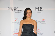 Meghan Markle Strapless Dress