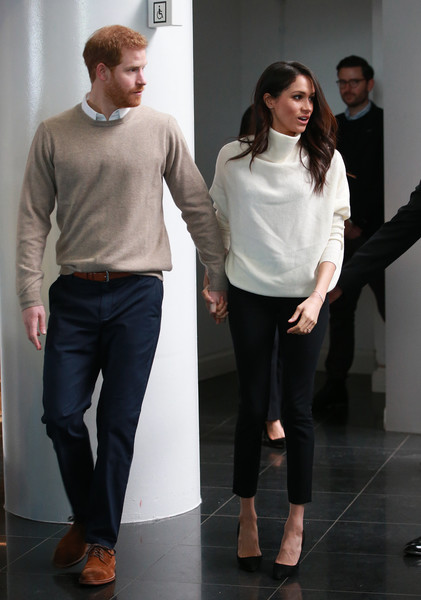 Meghan Markle Turtleneck