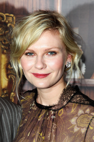 More Pics of Kirsten Dunst Loose Bun (1 of 36) - Loose Bun Lookbook - StyleBistro