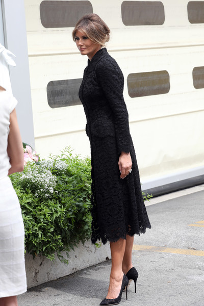 Melania Trump Lace Dress