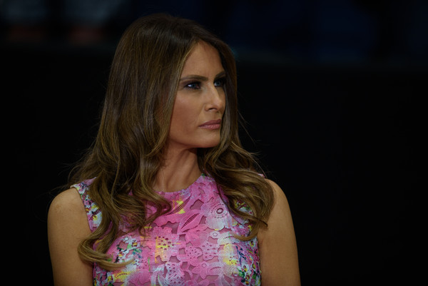 Melania Trump Long Wavy Cut