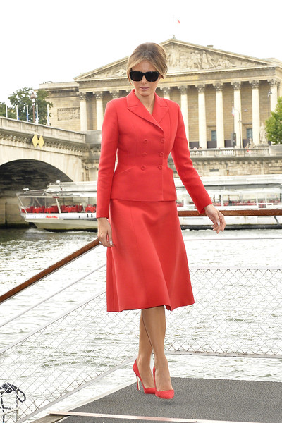 Melania Trump Skirt Suit