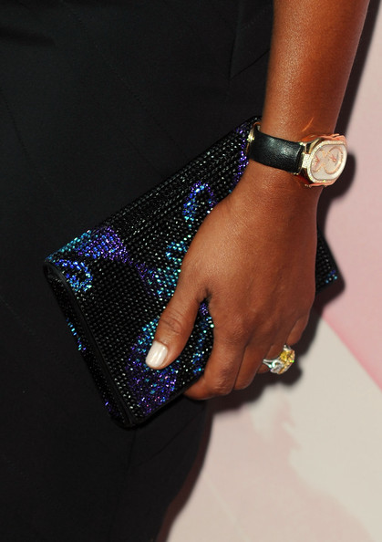 Melanie Brown Gemstone Inlaid Clutch