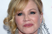 Melanie Griffith Side Swept Curls