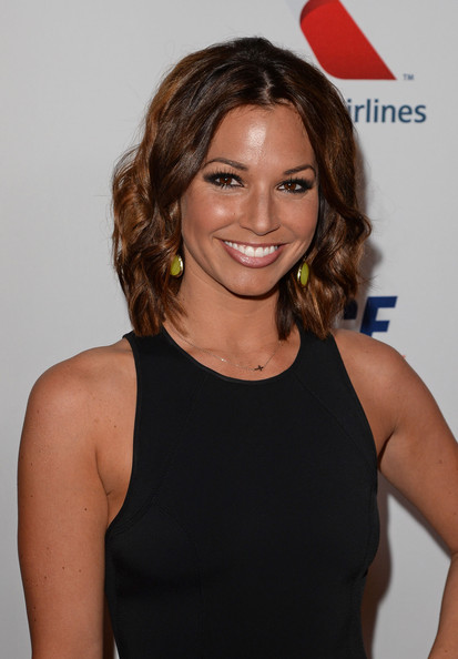 Melissa Rycroft-Strickland Short Wavy Cut