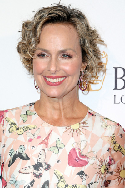 Melora Hardin Curled Out Bob [hair,hairstyle,face,blond,eyebrow,shoulder,chin,lip,beauty,skin,arrivals,melora hardin,tea party,los angeles,west hollywood,california,the london hotel,bafta,bbc america]