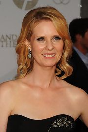 Cynthia Nixon showed off her blonder than usual locks, which radiated on the red carpet.