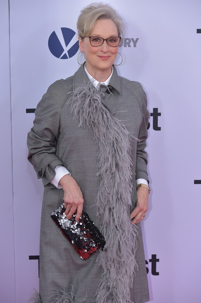 Meryl Streep Sequined Clutch