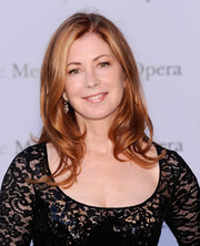 Dana Delany attended the 'Eugene Onegin' opening wearing her hair in lovely waves.