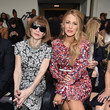 Anna Wintour and Blake Lively at Michael Kors Collection