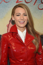 Blake Lively looked simply lovely wearing this side-swept 'do at the Michael Kors fashion show.