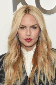 Rachel Zoe stuck to her signature boho waves when she attended the Michael Kors fashion show.
